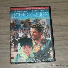 Cine: ESTHER Y EL REY EDICION ESPECIAL FORMATO INTEGRO DVD DE RAOUL WALSH JOAN COLLINS NUEVA PRECINTADA. Lote 134351071