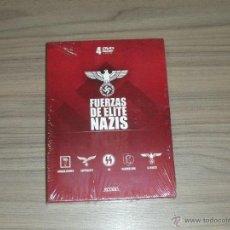 Cine: FUERZAS DE ELITE NAZIS 4 DVD NUEVA PRECINTADA. Lote 210689614