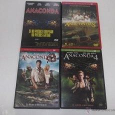 Cine: COLECCION ANACONDA EN 4 DVDS - PACK DE LA SAGA ANACONDA COMPLETA Y EN MUY BUEN ESTADO ¡UNICA EN TC!. Lote 49202233