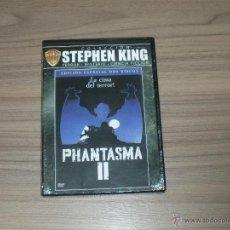 Cine: PHANTASMA II EDICION ESPECIAL 2 DVD STEPHEN KING TERROR NUEVA PRECINTADA. Lote 205584402