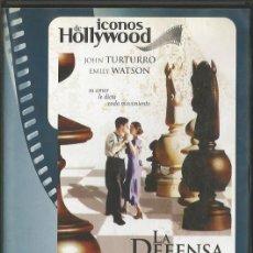 Cine: DVD - LA DEFENSA LUZHIN - DIR. MARLEEN GORRIS. Lote 49216149