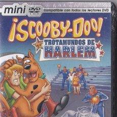 Cine: SCOOBY - DOO - TROTAMUNDOS DE HARLEM - MINI DVD - PRECINTADO. Lote 197530337
