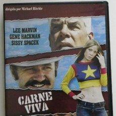 Cinema: CARNE VIVA - DVD PELÍCULA SUSPENSE ACCIÓN - LEE MARVIN - GENE HACKMAN - SISSY SPACEK MICHAEL RITCHIE. Lote 49265868