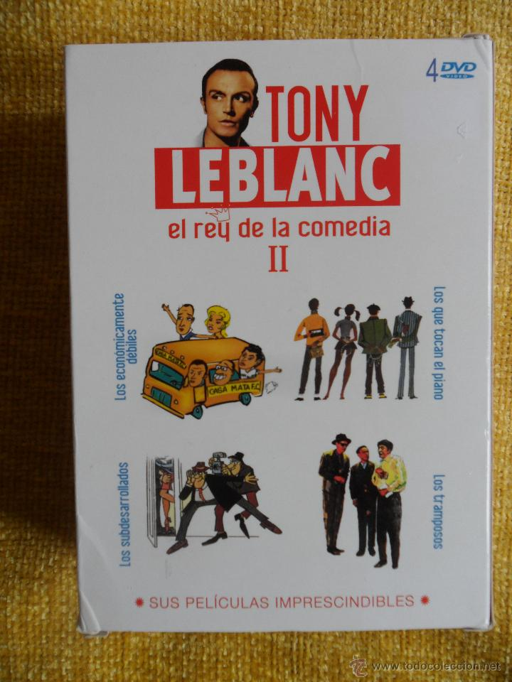TONY LEBLANC II. EL REY DE LA COMEDIA. ESTUCHE CON 4 DVDS CON 4 PELICULAS: LOS TRAMPOSOS - LOS ECON (Cine - Películas - DVD)