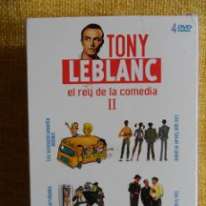 Cine: TONY LEBLANC II. EL REY DE LA COMEDIA. ESTUCHE CON 4 DVD'S CON 4 PELICULAS: LOS TRAMPOSOS - LOS ECON. Lote 49279716