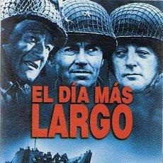 Cine: DVD EL DÍA MÁS LARGO HENRY FONDA EDICIÓN 2 DISCOS . Lote 49358250