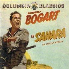 Cine: DVD SAHARA HUMPHREY BOGART . Lote 49359319
