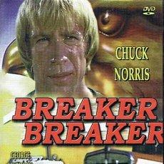 Cine: DVD BREAKER BREAKER CHUCK NORRIS. Lote 49416236