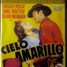 Cine: CIELO AMARILLO-GREGORY PECK, ANNE BAXTER, RICHARD WIDMARK.- WILLIAM A.WELLMAN ´LIBRETO 32 PÁGINAS. Lote 49466795