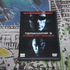 Cine: TERMINATOR 3 - LA REBELIÓN DE LAS MÁQUINAS - JONATHAN MOSTOW - ARNOLD SCHWARZENEGGER - 2 DVD SET. Lote 49497263