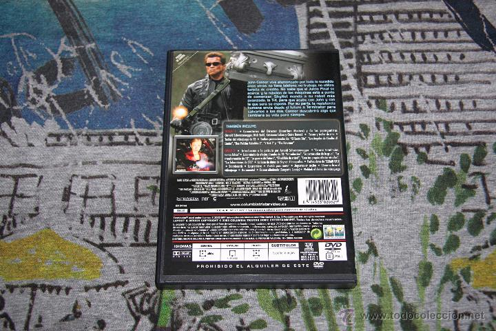 Cine: Terminator 3 - La Rebelión De Las Máquinas - Jonathan Mostow - Arnold Schwarzenegger - 2 DVD SET - Foto 2 - 49497263