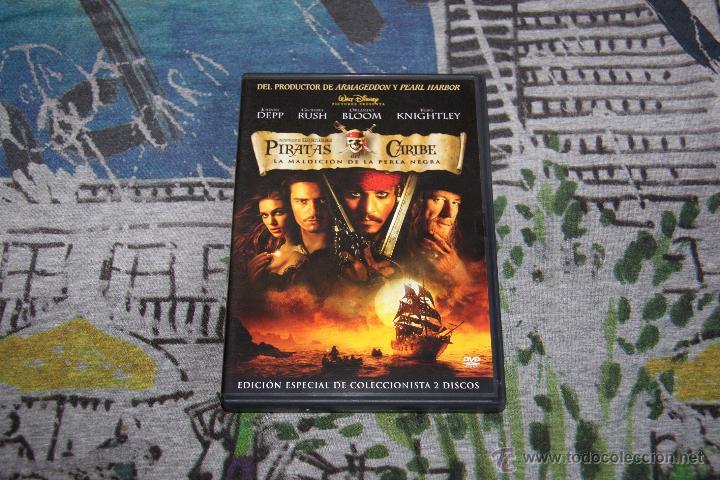 PIRATAS DEL CARIBE - LA MALDICIÓN DE LA PERLA NEGRA - EDICIÓN COLECCIONISTA - 2 DISCOS - DVD (Cine - Películas - DVD)