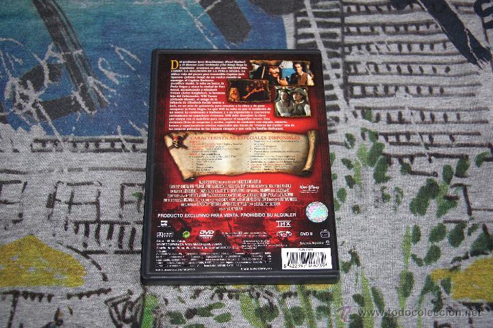 Cine: Piratas Del Caribe - La Maldición De La Perla Negra - Edición Coleccionista - 2 DISCOS - DVD - Foto 2 - 49508754