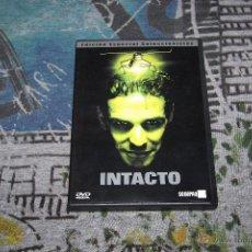 Cine: INTACTO - JUAN CARLOS FRESNADILLO - LEONARDO SBARAGLIA - EUSEBIO PONCELA - 2 DVD SET. Lote 49519924