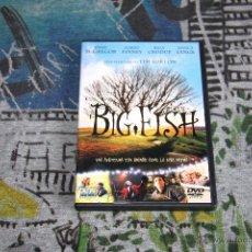 Cine: BIG FISH - TIM BURTON - EWAN MCGREGOR - ALBERT FINNEY - JESSICA LANGE - DVD. Lote 49534251
