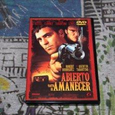 Cine: ABIERTO HASTA EL AMANECER - ROBERT RODRIGUEZ - QUENTIN TARANTINO - GEORGE CLOONEY - DVD. Lote 49534481