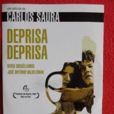 Cine: DEPRISA DEPRISA. DVD DE LA PELICULA DE CARLOS SAURA. CON BERTA SOCUELLAMOS Y JOSE ANTONIO VALDELOMAR. Lote 49613099
