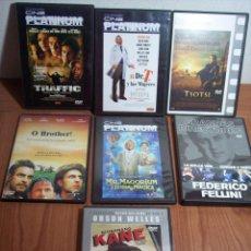 Cine: LOTE DE 7 DVD'S (VARIADOS) VER LOS TÍTULOS EN LA DESCRIPCIÓN. Lote 49620787