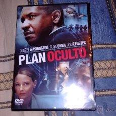 Cine: PELICULA DVD NUEVA, SIN ABRIR PLAN OCULTO DE DENZEL WASHINGTON. Lote 49644099