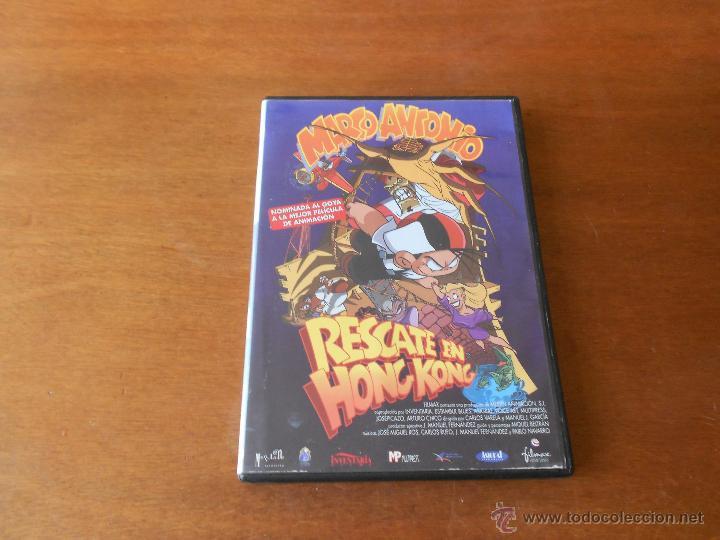 DVD DIBUJOS ANIMADOS: MARCO ANTONIO, RESCATE EN HONG KONG (Cine - Películas - DVD)