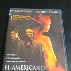Cine: EL AMERICANO IMPASIBLE **DE PHILLIP NOYCE CON MICHAEL CAINE, BRENDAN FRASER **DESCATALOGADA. Lote 49754918