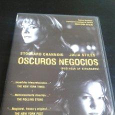 Cine: OSCUROS NEGOCIOS **DE PATRICK STETTNER CON STOKARD CHANNING, JULIA STILES,** DESCATALOGADA. Lote 49765853