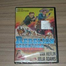 Cine: REBELION REDENTORA DVD VAN HEFLIN JULIA ADAMS NUEVA PRECINTADA. Lote 144205909