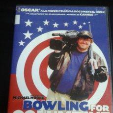 Cine: BOWLING FOR COLUMBINE ***** DE MICHAEL MOORE. Lote 49772015