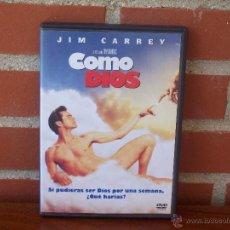 Cine: COMO DIOS - JIM CARREY - DVD. Lote 49772890