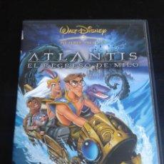 Cine: ATLANTIS, EL REGRESO DE MILO ***DISNEY **. Lote 49780534
