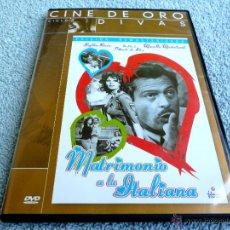 Cine: MATRIMONIO A LA ITALIANA - SOPHIA LOREN - MARCELLO MASTROIANNI - VITTORIO DE SICA. Lote 49789369