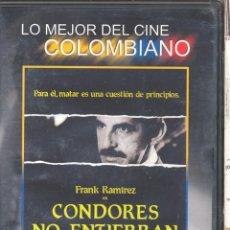Cine: CONDORES NO ENTIERRAN TODOS LOS DIAS DVD... DE LO MEJORCITO DEL CINE COLOMBIANO. DESCATALOGADISIMO.. Lote 49838589
