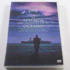 Cinema: PELICULA DVD LA LEYENDA DEL PIANISTA EN EL OCEANO - GIUSSEPPE TORNATORE TIM ROTH - DESCATALOGADA. Lote 49843139