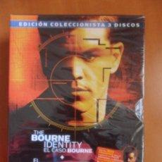 Cine: THE BOURNE IDENTITY EL CASO BOURNE / EL MITO DE BOURNE / LOS ARCHIVSOS DE BOURNE BONUS DISC. EDICION. Lote 49858460