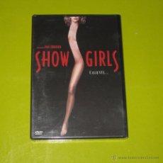 Cine: DVD.- SHOWGIRLS - PAUL VERHOEVEN - ELISABETH BERKLEY - DESCATALOGADA - NUEVA. Lote 98469099