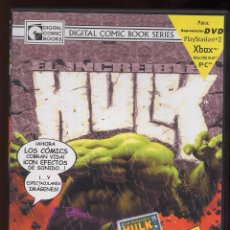 Cine: DVD EL INCREIBLE HULK VOLUMEN 1 NUMEROS 1-6 - 2 DVDS - COMIC ANIMADO DIGITAL COMIC BOOK - (REF M1). Lote 49962992