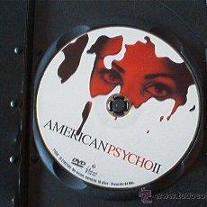 Cine: DVD AMERICAN PSYCHO II. Lote 49993848