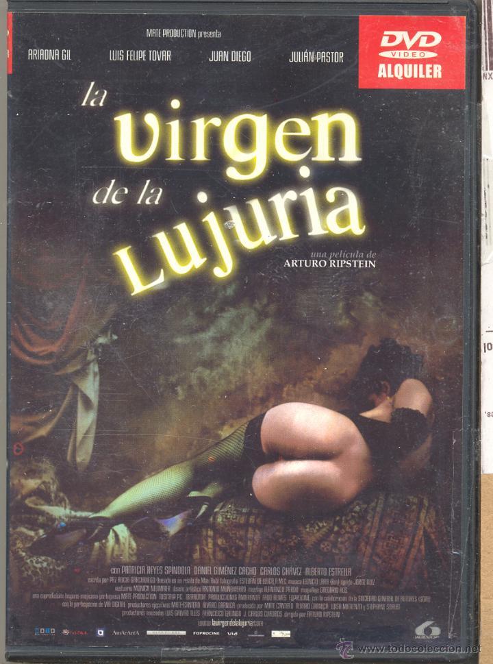 LA VIRGEN DE LA LUJURIA DVD (ARTURO RIPSTEIN). UNA OBRA ESENCIAL DE RIPSTEIN... BARROCA Y SÓRDIDA (Cine - Películas - DVD)