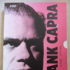 Cine: FRANK CAPRA COLLECTION. ESTUCHE CON 4 DVD'S CON 4 PELICULAS. QUE BELLO ES VIVIR. DAMA POR UN DIA. JU. Lote 50034054