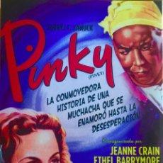 Cine: PINKY- UN FILM DE ELIA KAZAN-JEANNE CRAIN-. Lote 50070358