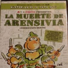 Cine: DVD CINE ESPAÑOL . LA MUERTE DE ARENSIVIA ( HISTORIAS DE LA PUTA MILI). Lote 50151167