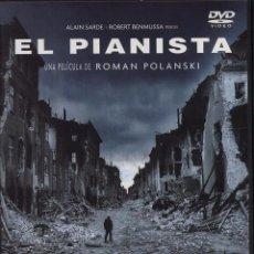 Cine: DVD PELICULA EL PIANISTA DE ROMAN POLANSKI BASADA EN HECHOS REALES --------- (REF M1 E1). Lote 50159864