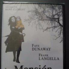Cine: DVD LA MANSIÓN BAJO LOS ÁRBOLES (1971) - RENÉ CLÉMENT - FAYE DUNAWAY - FRANK LANGELLA. Lote 50163025