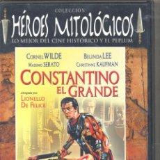 Cine: CONSTANTINO EL GRANDE DVD. DEMOSTRÓ SER EL MÁS FUERTE EN LA GUERRA Y ... EVITAR LOS SUCIOS COMPLOTS. Lote 50207976