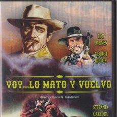 Cine: DVD WESTERN VOY ... LO MATO Y VUELVO. Lote 50236277