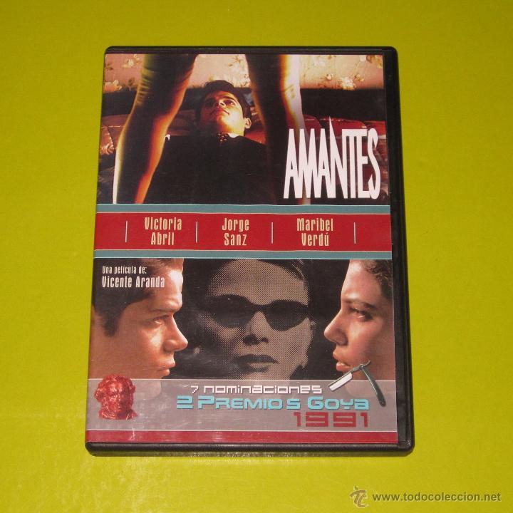 DVD.- AMANTES - VICENTE ARANDA - VICTORIA ABRIL - DESCATALOGADA - CINE ESPAÑOL (Cine - Películas - DVD)