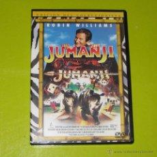 Cine: DVD.- JUMANJI (EDICION COLECCIONISTA) - ROBIN WILLIAMS - DESCATALOGADA. Lote 117864602