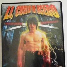 Cine: LI CUELLO DE ACERO - DVD PELÍCULA ACCIÓN LUCHA - ARTES MARCIALES - MAESTROS DEL KUNG FU - KIAN CHUN. Lote 50289379