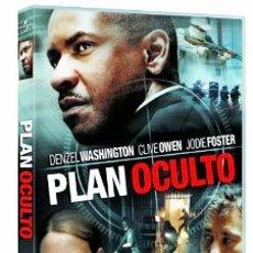 Cine: PLAN OCULTO (DENZEL WASHINGTON, CLIVE OWEN) NUEVO Y PRECINTADO. Lote 50326484