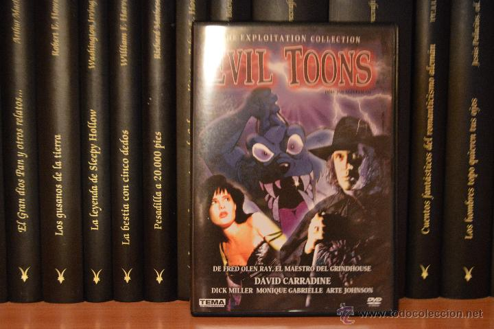Evil Toons Dvd De Fred Olen Ray Con David C Sold Through Direct Sale 50352400